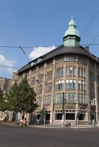 The former Kaufhaus Jahndorf, Bright's new home