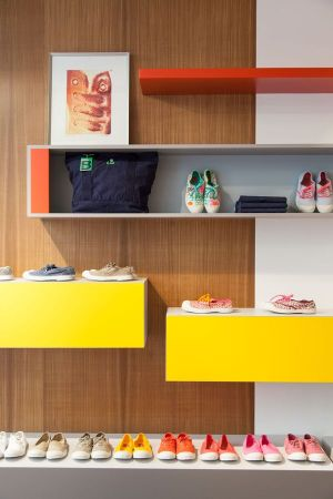 The new Bensimon Addicted to Love store in Paris
