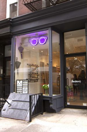 The new Illesteva store at 49 Prince Street, NYC