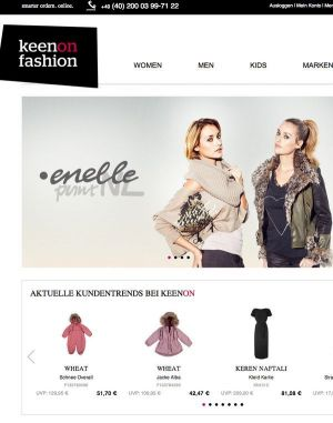 The online platform KeenOnFashion.com