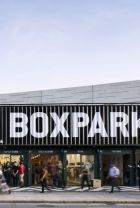 The original: Boxpark in London Shoreditch