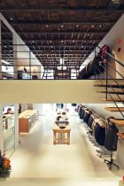 The store was designed by renowned interior designer Masamichi Katayama