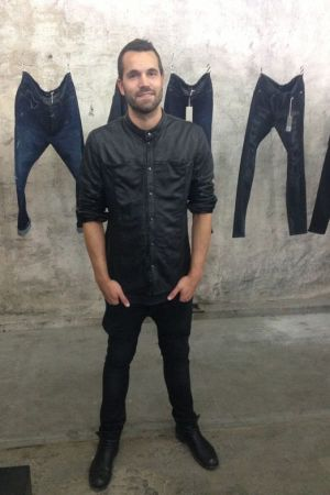Tigha's Head of Sales, Max Schulte, presents the new denim line