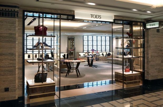Tod's boutique at Shoe Heaven