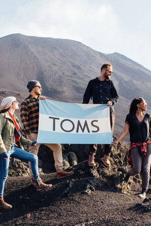 Toms founder Blake Mycoskie sells 50% stake of his company.