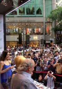 Topshop store opening in Hong Kong