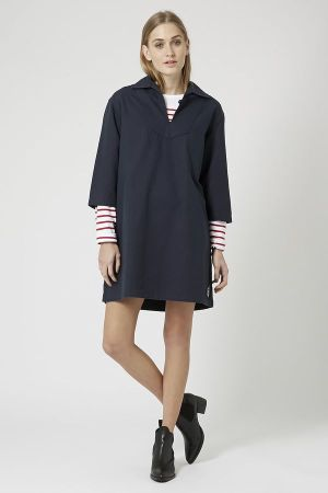 Topshop x Armor Lux stripy shirt and smockdress