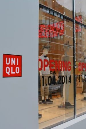 Uniqlo celebrates its Berlin opening today