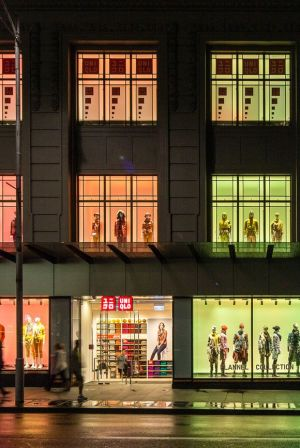 Uniqlo's first Australian shop in Melbourne