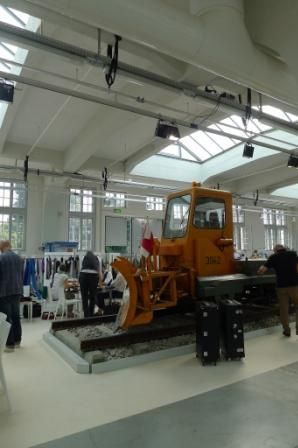 VIEW's new location inside Munich's transport museum MVG