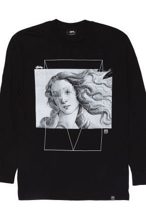 Venus Hoodie in black/white from Stussy and Slam Jam