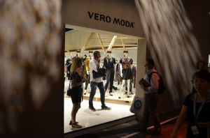 Vero Moda booth in the Bestseller hangar