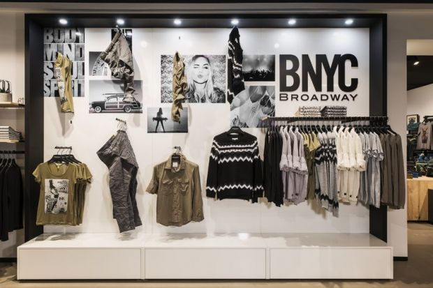 View of the Broadway BNYC SIS-system for stores and retail partners