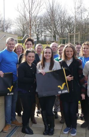 Voi staff members meet up with Help for Heroes