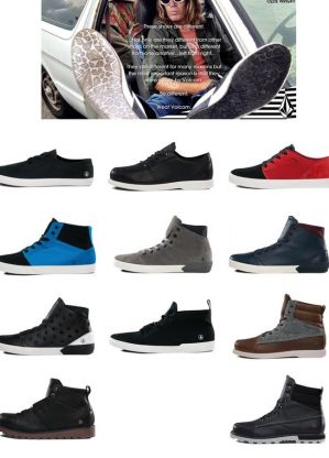 Volcom launches new closed-toe footwear range