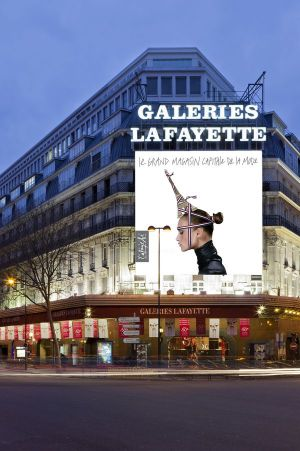 Will be taken over by the #dieselreboot project: Galeries Lafayette in Paris