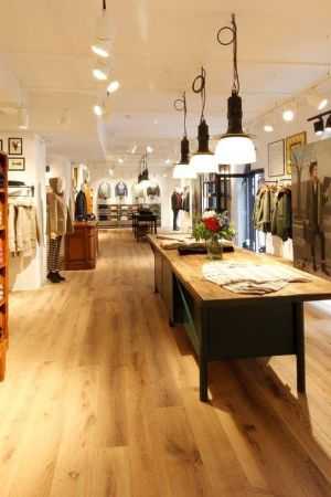 Woolrich retail space in Hamburg