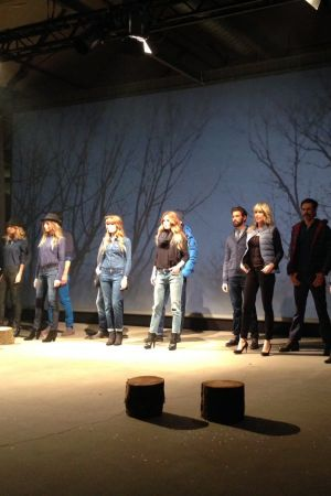 Wrangler presented the launch of their f/w 2014 collection in Ghent/Belgium