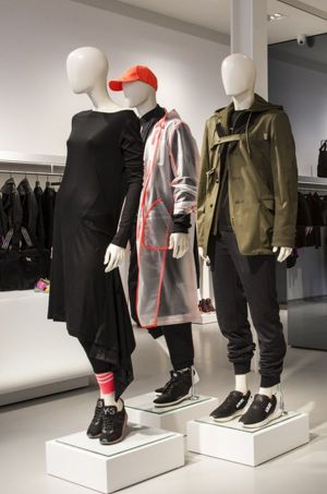 Y-3 store at Floral Street, Covent Garden.