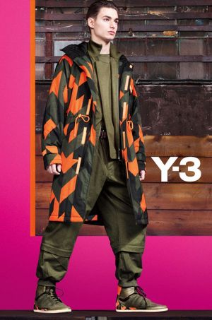 "Y-3 ""walks backward into the future""."