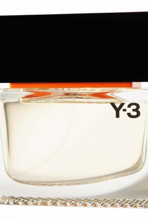 Y-3's first men's fragrance Black Label