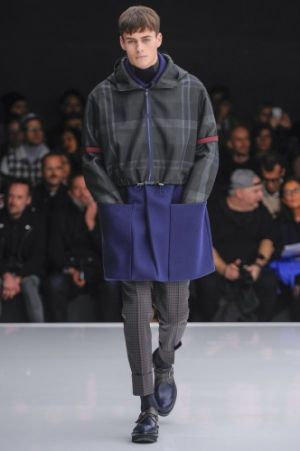 Z Zegna catwalk look for fall/winter '14