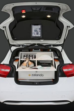 Zalando presents its first fashion automobile