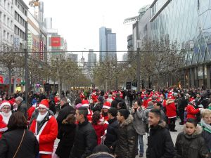 Zeil in Frankfurt, two weeks before Christmas