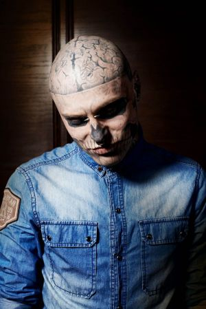 Zombieboy in Rocawear's latest s/s 2013 campaign