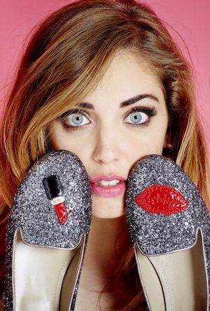 blogger Chiara Ferragni has created her first shoe collection