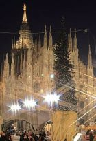 christmas shopping in Milan