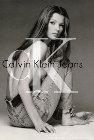 ck Calvin Klein Jeans campaign with Kate Moss 1992, Partick Demarchelier