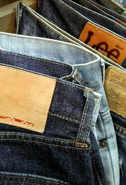 counterfeit jeans printing