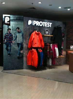 new Protest store in Tianjin