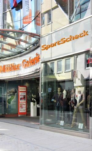 new SportScheck store in Reutlingen, Germany