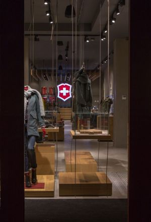 new Victorinox store in Soho, New York