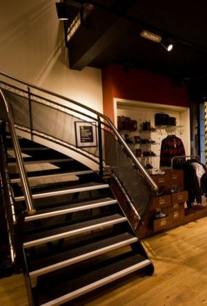 new opened Dr Martens store in London