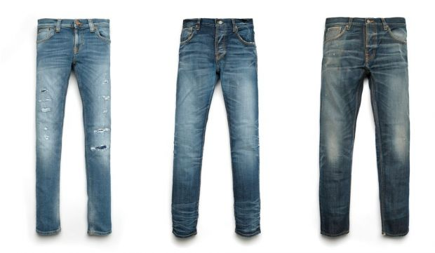 the Nudie Replica Denims (from l.): Stian, Simon and Mike
