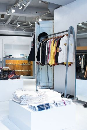 reopened BEAMS BOY flagship store in Harajuku