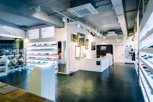 Inside the new Frankfurt store