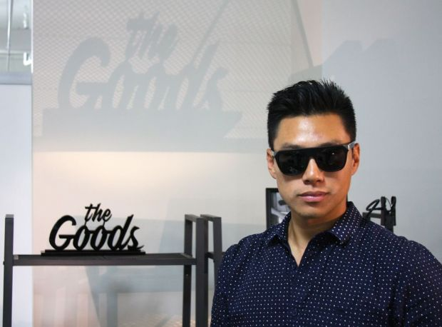 Accessories brand The Goods showed their low key, cool collection of sunglasses