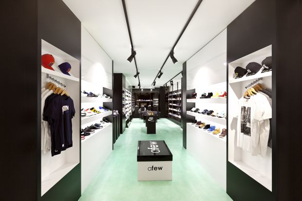Afew Sneaker store in Dusseldorf, Germany