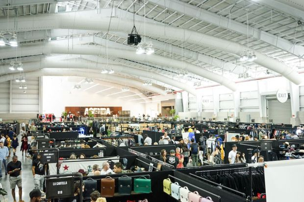 Agenda NY hosted 250 brands over nearly 100,000 square feet