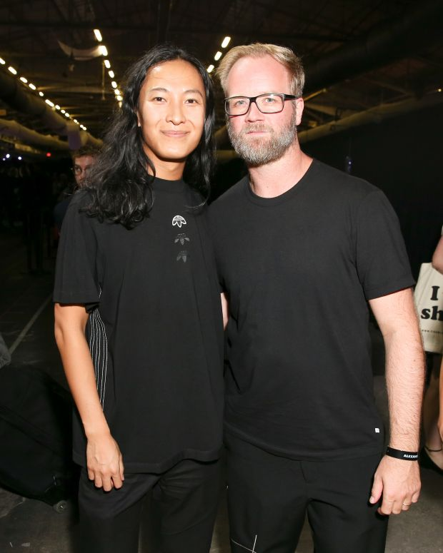 Alexander Wang with Nic Galway, creative director Adidas Originals
