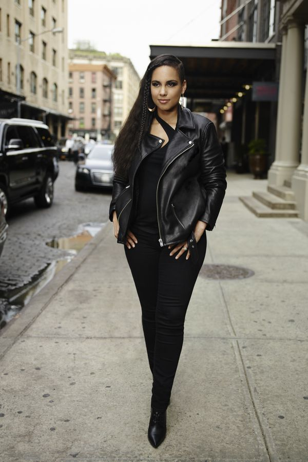 Alicia Keys for Levi's
