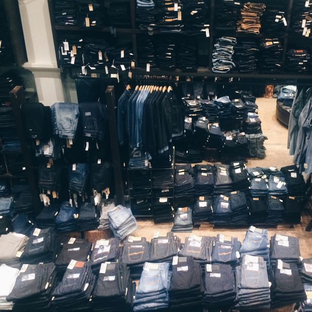 All about Jeans at Dutil, Vancouver, Canada