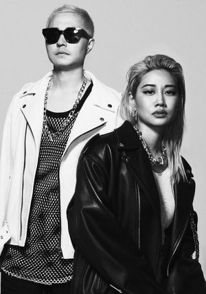 Verbal (left) and Yoon, the couple behind Ambush.