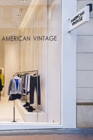 American Vintage flagship store in Madrid, Spain