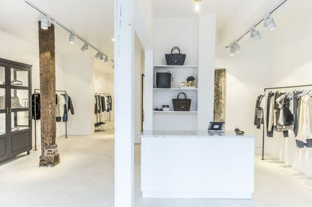 Anine Bing's new Paris' store, pic by Ulrika Goransson