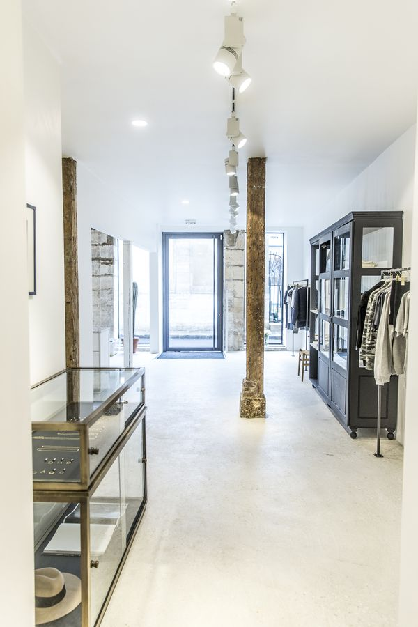 Anine Bing's new Paris' store by Ulrika Goransson